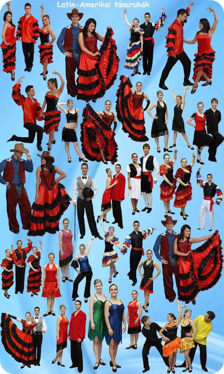e6bc62ef76 Latin-Amerikai táncruhák kölcsönzése - jelmez, mikulás, sárgulás ...